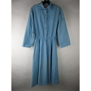 VINTAGE The American Shirt Dress Pleated